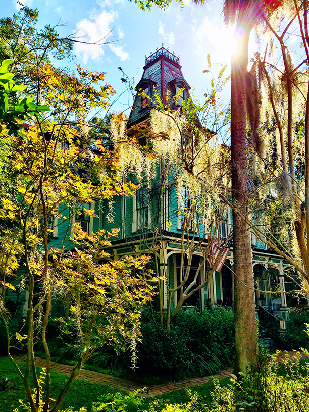 Then Amp Now Blog The Historic Baird Mansion